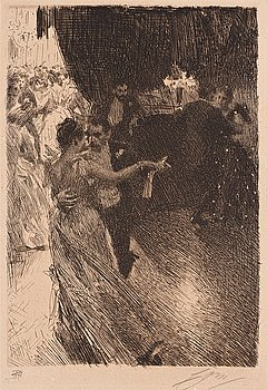 "357. Anders Zorn, ""The Waltz"" (""La Valse"")."