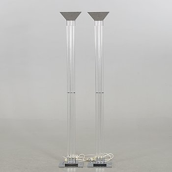 A PAIR OF FLOOR LIGHTS BY RELUX, ITALY 1980'S.