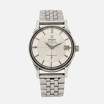 "OMEGA, Constellation, ""Pie-Pan"", Chronometer, wristwatch,34 mm."
