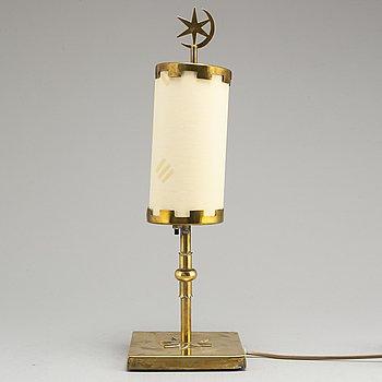 a 1940's Swedish Modern table lamp.