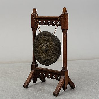 A Chinese 20th century gong-gong.