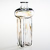 """Helena tynell, pullo, """"portti"""", signeerattu riihimäen lasi oy, helena tynell."""