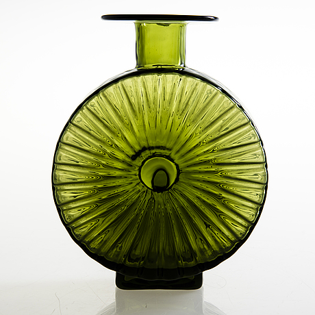 Helena tynell, a 'sun bottle' for riihimäen lasi oy. in production 1964-1974.