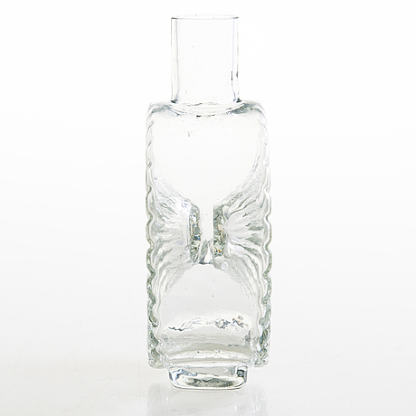 Helena tynell, a special edition 'sun bottle', riihimäen lasi oy. dated 12.11 -66.