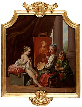514. Johan Pasch Attributed to, Allegory of Art.