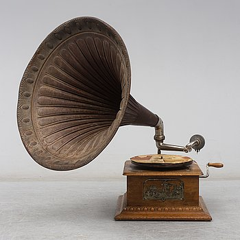 Luxophon grammophone, first half of the 20th century.
