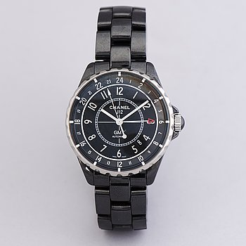 CHANEL, J12 GMT, wristwatch, 39.5 mm.