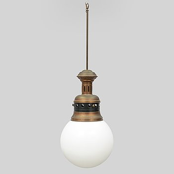 A 20th century caeiling lamp.