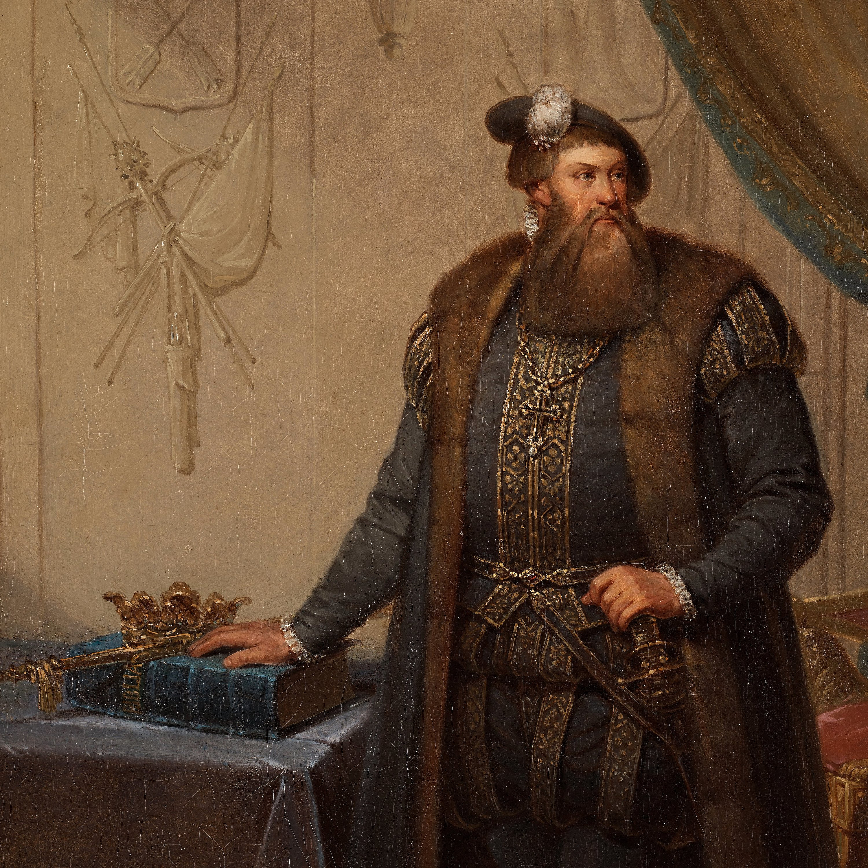Johan Gustaf Sandberg, King Gustav Vasa (1496-1560). - Bukowskis