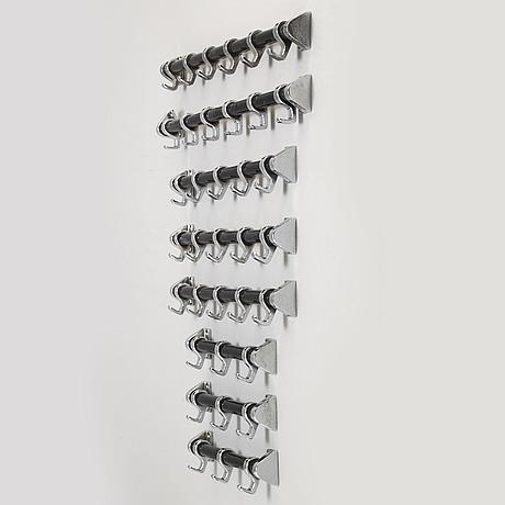 Eight coat hangers from an sj train, 1930s