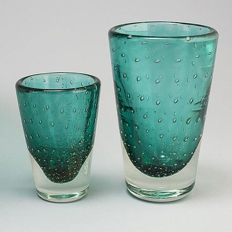 Servis, 23 delar, glas, murano, venedig, italien, 1900 talets mitt