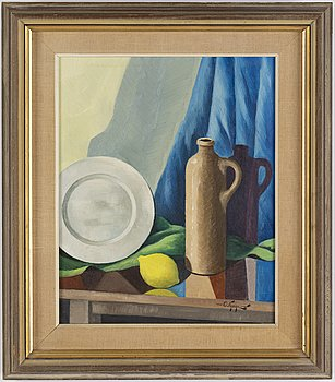 OLLE NYMAN, oil on canvas, signed O Nyman.