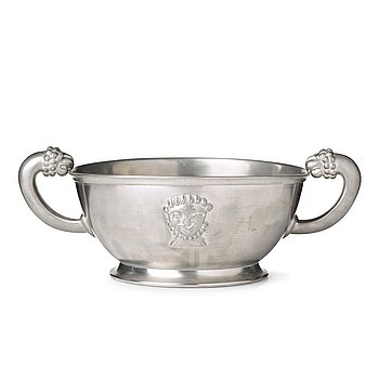 278. Anna Petrus, a pewter bowl, Svenskt Tenn, Stockholm 1931.
