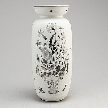STIG LINDBERG, a 'Grazia' stoneware vase, Gustavsberg 1950-60's.
