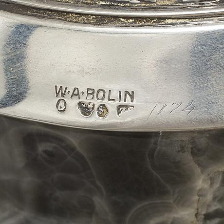 W.a. bolin, vas, agat och silver, stockholm, 1950?