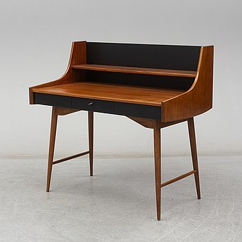"A ""Ola-pulten"" writing desk, designed by John Texmon for Blindheim Møbelfabrikk, in production from approx 1957."