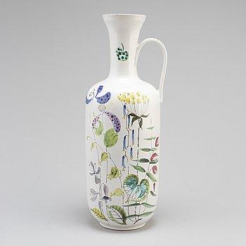 STIG LINDBERG, an earthenware vase from Gustavsberg studio.
