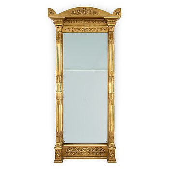 A second half of the 19th Century Empire style mirror.