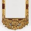 Spegel, rokokostil, 1900 talets mitt
