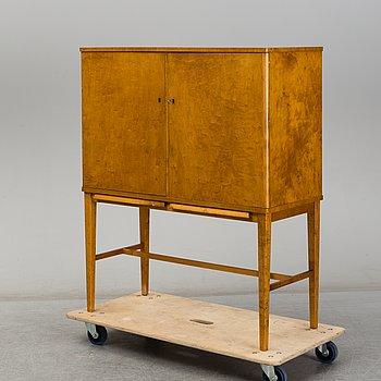 A birch veneered Swedish Modern cabinet, 1930's.