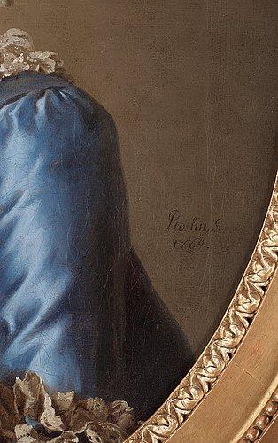 Alexander roslin, portrait of an unknown lady