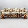 Soffa, omgjord av kinesisk säng, 1900 talets början