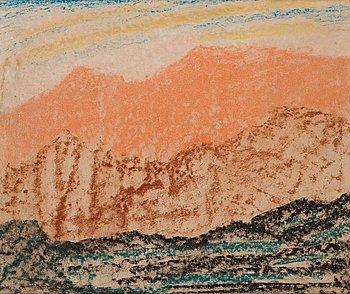339. Carl Fredrik Hill, Mountain landscape.
