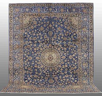A carpet, Kashmar, ca 385 x 303 cm.