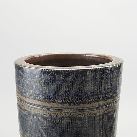 Arthur andersson, a set of two stoneware vases for vallåkra