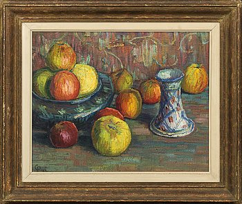 CARL PALME, oil on canvas signed and dated.