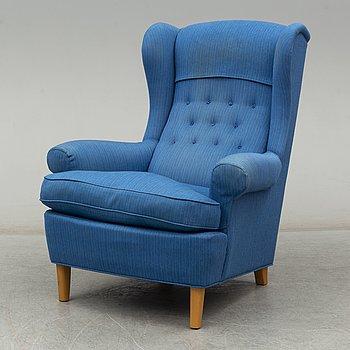CARL MALMSTEN, a 'Häggbom' easy chair, A.B O.H Sjögren.