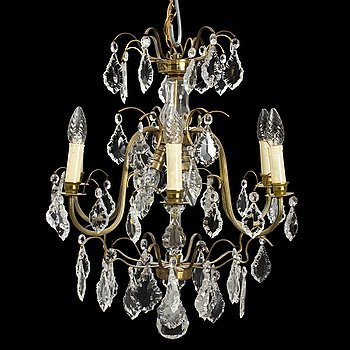A mid 20th Century chandelier.