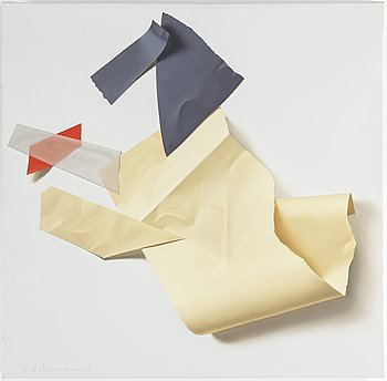 YRJÖ EDELMANN, oil on canvas, signed and dated -83.