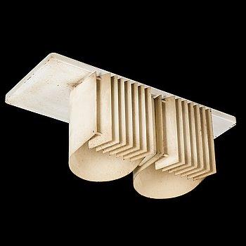 ALVAR AALTO, a 1960s 'AE-7055' ceiling lamp for Itsu.