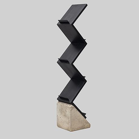 Jonas bohlin, shelf, 'zink', for källemo, värnamo, designed in 1984