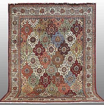 A CARPET, Tabriz, 390 x 293 cm.