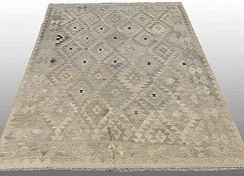 A CARPET, Kilim, ca 247 x 164 cm.