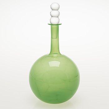NANNY STILL Tzarina Glass Carafe, signed Riihimäen Lasi OY Nanny Still.