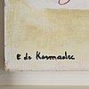 """Eugene de kermadec, """"paysage épuré""""."""