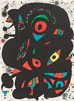 "663. Joan Miró, ""Strindbergmappen""."