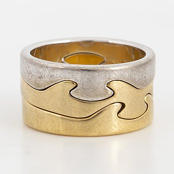 GEORG JENSEN, fusion ring,18K.
