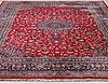 A meshed carpet, ca 376 x 295 cm