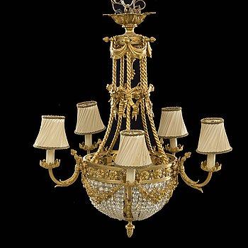 TAKKRONA, Louis XVI-stil, tidigt 1900-tal.