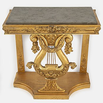 A Karl-Johan style console table from around 1900.