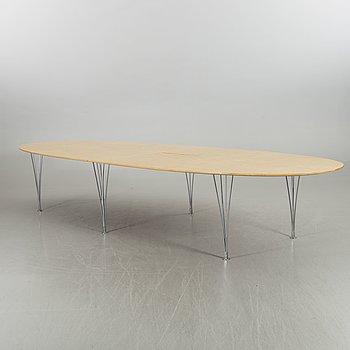 """A BRUNO MATHSSON & PIET HEIN, table """"Superellips"""","""