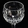 Sigurd persson, a 42 piece glass service 'gripsholm' kosta boda