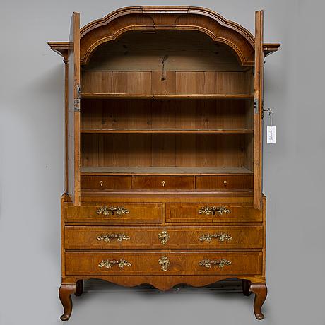 A swedish rococo 18th century cupboard.