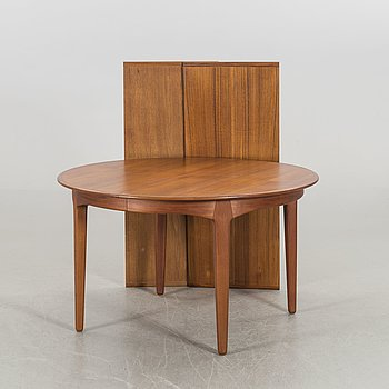 "A HENNING KJAERNULF ""MODEL 62"" DINING TABLE by Sorö Stole, Denmark."