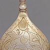 A swedish 17th century silver-gilt spoon, mark of jöran hieronymi bernegau, norrkoping (-1648-1679).