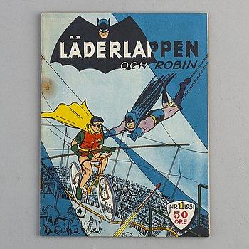SERIETIDNING, Läderlappen och Robin, nr 1 1951.